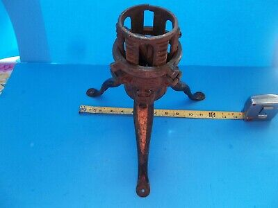 Antique Cast Iron Christmas Tree Stand Marked Philada Pa Usa