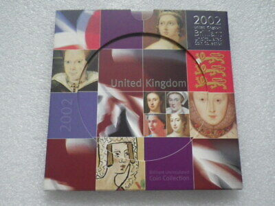 Great Britain 2002 Uncirculated Coin Set   (A)