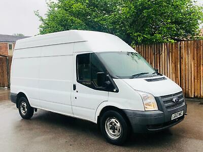 2013/63 Ford Transit T350 2.2 Tdci 125 Ps Rwd 6 Speed-Lwb Hi Roof-Frozen White!!