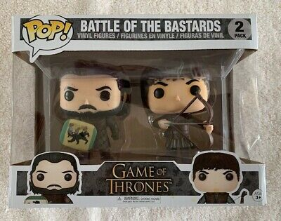 Funko Pop Figures - Game of Thrones - Battle of the Bastards Two Pack