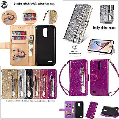 sneakers for cheap 8a920 5cf7c FOR LG REBEL 4 LML212VL / LML211BL Wallet Pouch Phone Case Cover ...