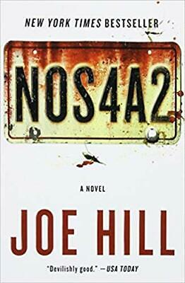NOS4A2 by Joe Hill PAPERBACK 2013