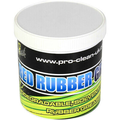 Pro Clean Red Rubber Grease Workshop Tub 500g