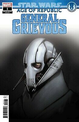 Star Wars Age Of Republic General Grievous  #1 Variant - Boarded. Free Uk P+P