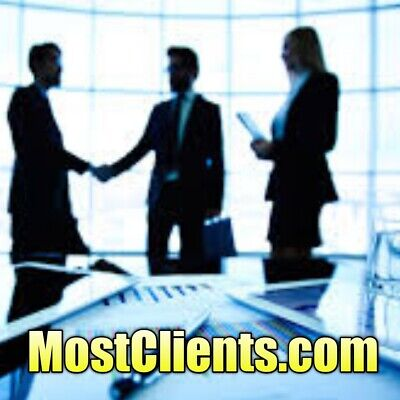 MostClients.com Premium Marketing/SEO/Leads/Business Clients Domain Name NR $$$