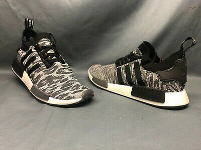 59e6f51c308f3 Adidas Men's NMD_R1 PK Running Sneakers Core Black White Solar Red Size 13  ...