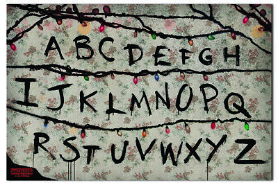 Stranger Things R,U,N Poster New - Maxi Size 36 x 24 Inch