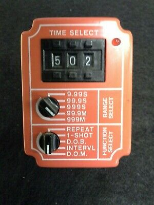National Controls Corp Tmm-0999M-461 Solid State Timer .01Sec-999Min.
