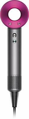 Dyson Supersonic Iron Fuchsia Hair Dryer and Diffuser Only