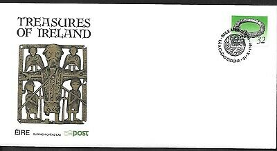 1991    FDC    TREASURES DEFINITIVES 32p         An Post