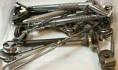 Large Lot Dentist Dental Machine Needle Tools Mixed Untested MS72