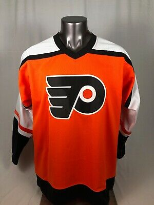 detailed look 5be36 b6e2a RON HEXTALL PHILADELPHIA Flyers Retro Authentic Mitchell & Ness Jersey  Adult Xl