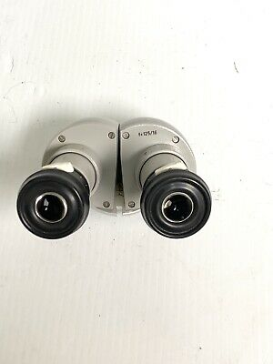 Carl Zeiss F=125/16 Opmi Binocular Head With Eyepieces.        #12860