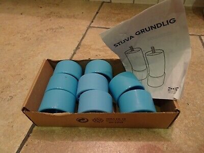 Ikea Stuva System  Blue Replacement Feet only X 8