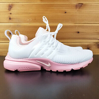 the latest c07ad 48950 Nike Womens Air Presto Size 6 White Sunset Tint Pink Running Shoes AQ7890  100