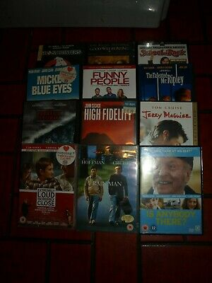 BUNDLE DVD'S (12) GENERAL VIEWING/FAMILY ETC - boxed and complete good condition