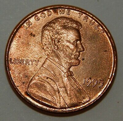 1995 - Doubled Die - Lincoln Memorial  - One Cent