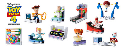2019 McDonald's TOY STORY 4 HAPPY MEAL TOYS! PICK Your Favorite