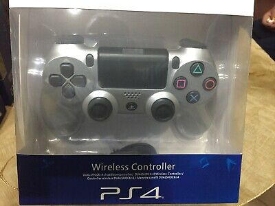 Sony Dualshock 4 Wireless Controller per PlayStation 4 Argento