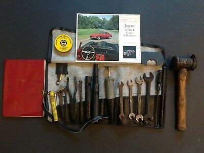 Jaguar E-Type XKE Tool Roll Kit with Pouch 3.8 & 4.2 E -Type