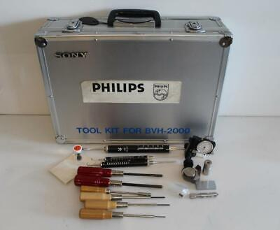 Sony Tool Kit BVH-2000 BVH2000 w/ Flight Case for BVH-2000 Video Tape Recorders