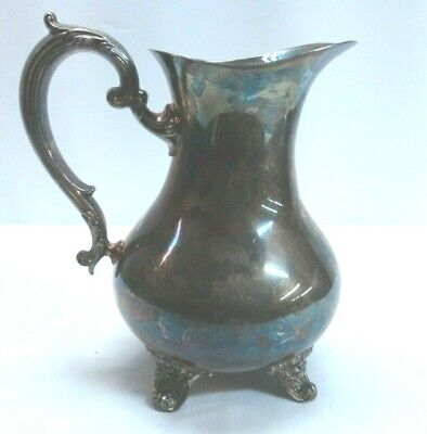 Gorham Silverplated Footed Water Pitcher YC1909