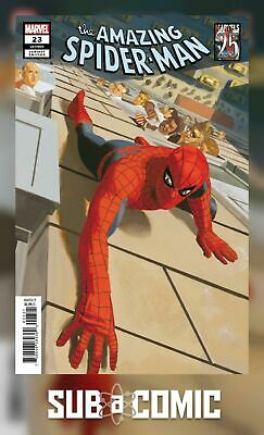 AMAZING SPIDER-MAN #23 ACUNA MARVELS 25TH TRIBUTE VARIANT (2019 1st Print) COMIC