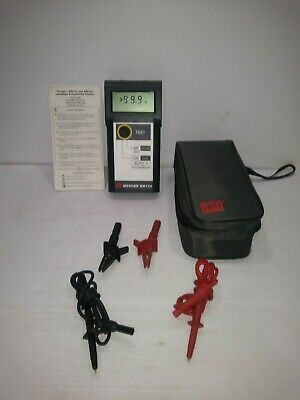 Avo Megger Insulation Tester Model Bm122 New Batteries Works 100%