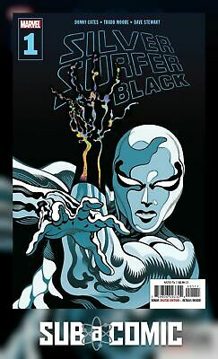 SILVER SURFER BLACK #1 (MARVEL 2019 1st Print) COMIC