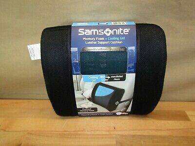 Samsonite SA5243 - Ergonomic Lumbar Support Pillow - Helps Relieve Lower Back Pa