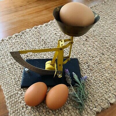 """French Egg Scale """"Vintage"""""""