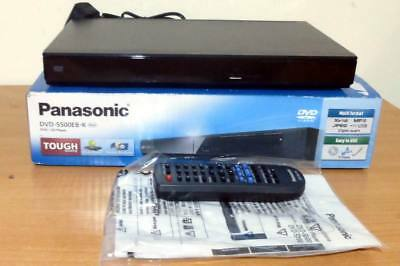 Panasonic DVD-S500EB-K Player with Multi Format USB Playback - SCART OUTPUT
