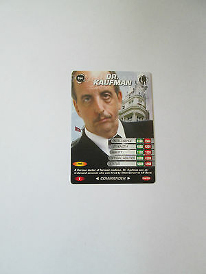 James Bond 007 Spy Common card 054 Dr. Kaufman (Test series)
