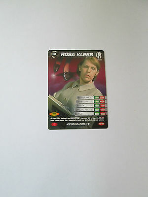 James Bond 007 Spy Common card 058 Rosa Klebb (Test series)