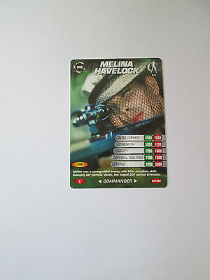 James Bond 007 Spy Common card 046 Melina Havelock (Test series)