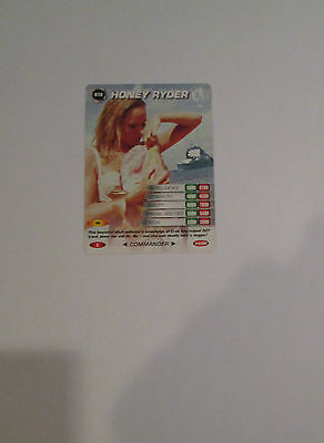 James Bond 007 Spy Common card 018 Honey Rider (Test series)
