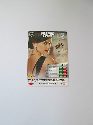 James Bond 007 Spy Common card 056 Vesper Lynd (Test series)