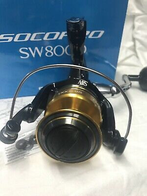 NEW SHIMANO SOCORRO SW 6000 SW 6000 SPINNING REEL *1-3 DAYS FAST DELIVERY*
