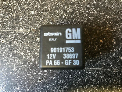 88-Vauxhall Astra Zafira //98-05 5-Pin Wipers Control Relay 90191753 Bitron 38697