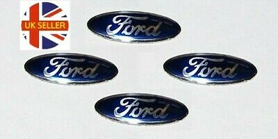 2 x 18mm FORD Replacement Key Fob Badge Sticker