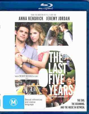 The Last Five Years - Musical Comedy - Blu Ray