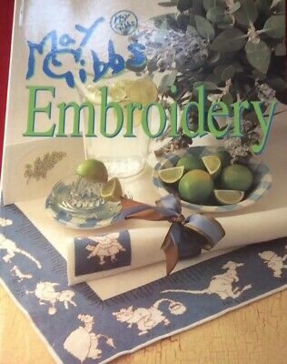May Gibbs Embroidery Designs By Alison Snepp Cross Stich Craft Patterns