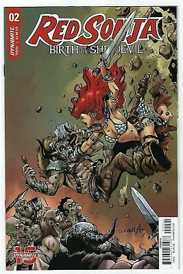 Red Sonja Birth Of A She Devil # 2 Cover B Dynamite NM