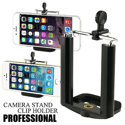 Universal Cell Phone Tripod Adapter Holder Smartphone Mount ISO Android Phone