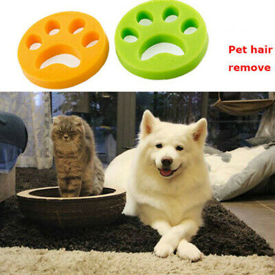2Pcs Clothes Floating Pet Fur Hair Remover Catcher Tool For Washing Machine