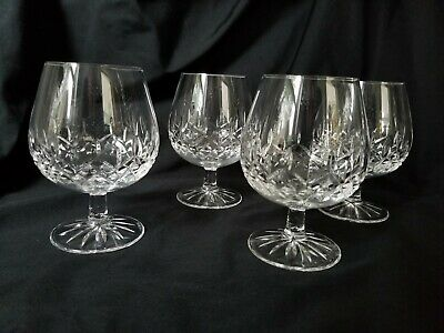Galway Longford (New Shape) Brandy Snifter Glasses Set of 4 2007