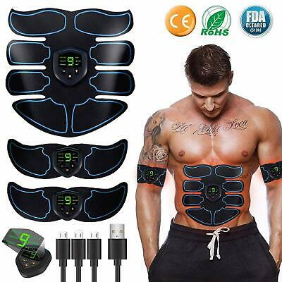 Abs Stimulator Ultimate Muscle Toner, EMS Abdominal Toning Belt for Men and Wome