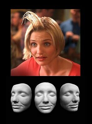 Life Mask Plastic Cameron Diaz Charlie's Angels Mary Mask Cast Lifemask Lifecast