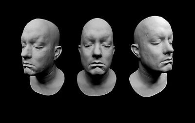 Life Mask White Plaster Tom Hanks Cast Lifemask Lifecast Face Private Ryan Sully