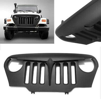 Front Bumper Hood Grille Grill Fit Jeep Wrangler TJ All Models 1997-2006 New Car